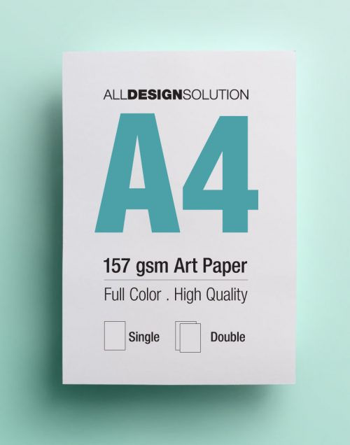 157gsm art paper flyer printing | All Design Solution