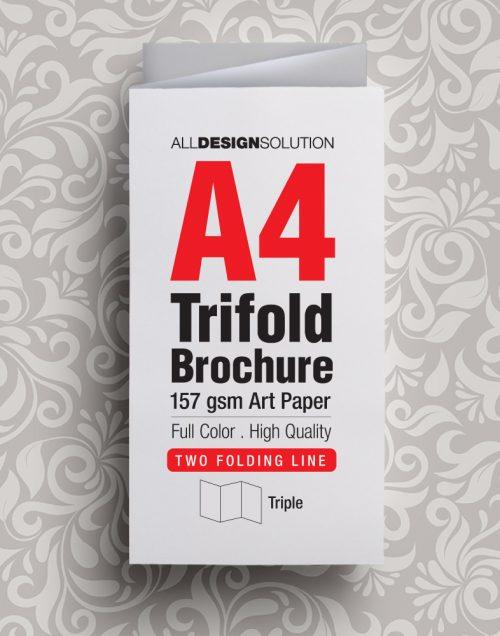 Brochure A4 157 gsm Art Paper